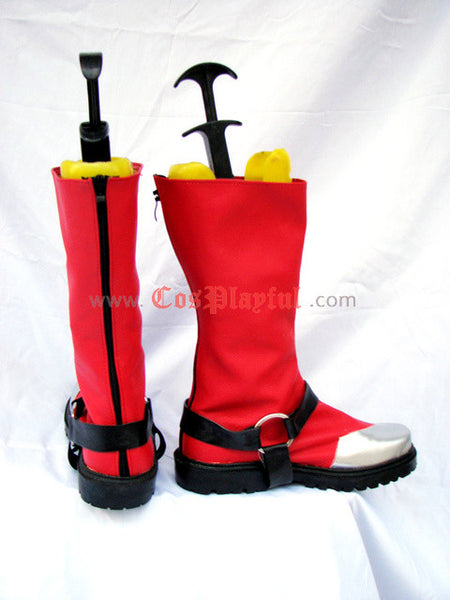 Inspired by BlazBlue Ragna The Bloodedge Cosplay Boots