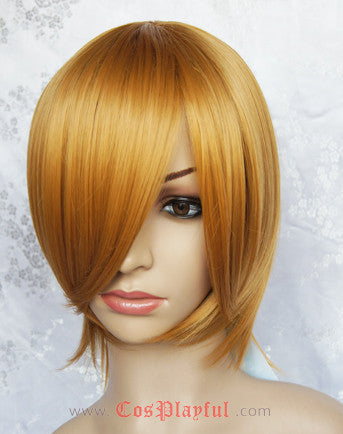Inspired by Gin Tama Okita Sougo Cosplay Wig