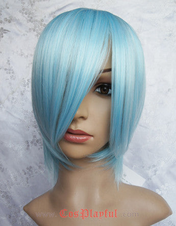 Inspired by Neon Genesis Evangelion Rei Ayanami Cosplay Wig High Quality
