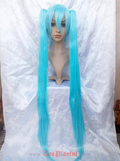 Inspired by High Quality Vocaloid Miku Cosplay Wig