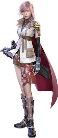 Inspired by Final Fantasy XIII 13 Lightning Cosplay Costume