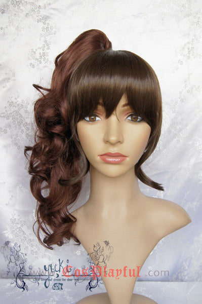 Inspired by Umineko no Naku Koro ni Natsuhi Ushiromiya Cosplay Wig High Quality