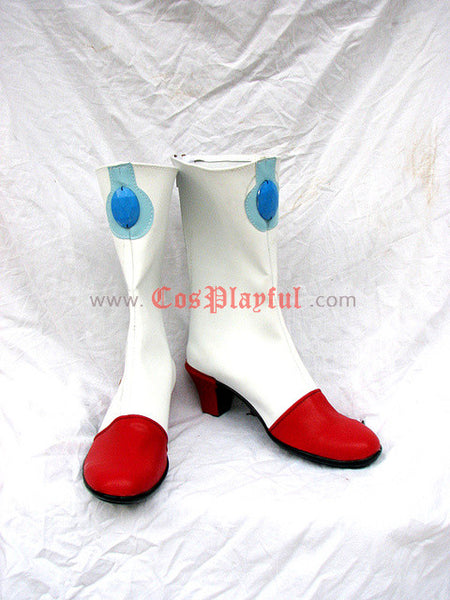 Inspired by Macross 7 Mylene Flare Jenius Cosplay Boots / Cosplay Shoes
