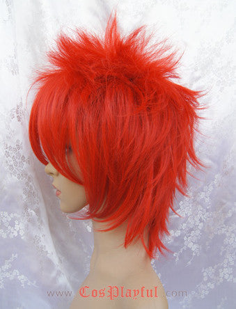 Inspired by Spiky Red Cosplay Wig