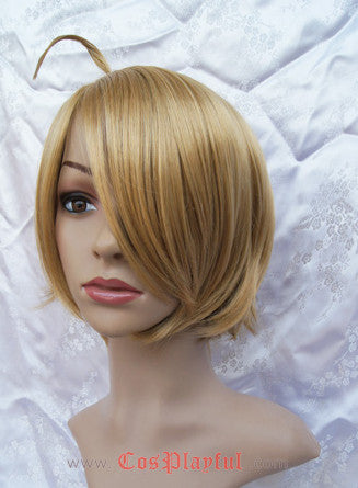 Inspired by Hetalia Axis Powers America  Alfred F. Jones Cosplay Wig
