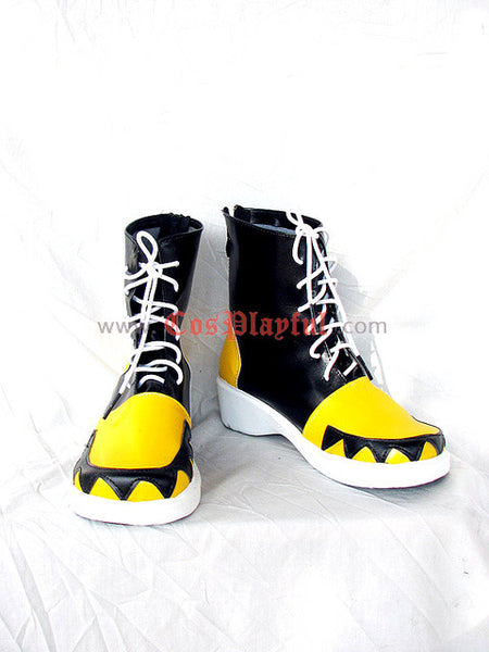 Inspired by Soul Eater Evans Cosplay Boots 2