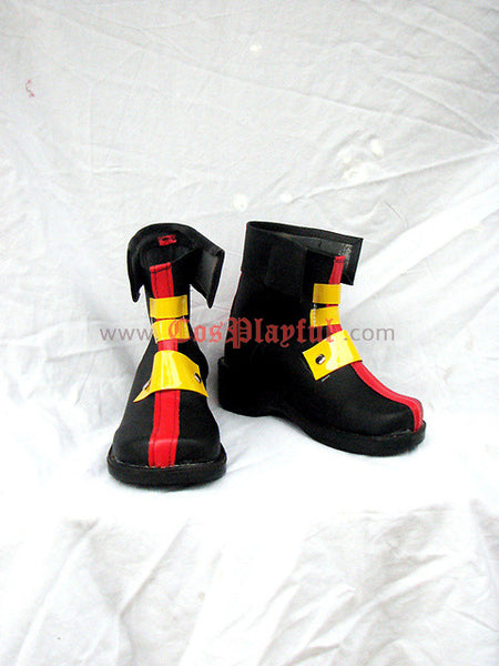Inspired by Magical Girl Lyrical Nanoha StrikerS  Teana Lanster Cosplay Boots