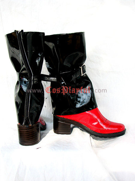 Inspired by Guilty Gear Jam Kuradoberi Cosplay Boots
