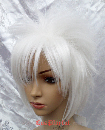 Inspired by Katekyo Hitman Reborn! Byakuran Cosplay Wig High Quality