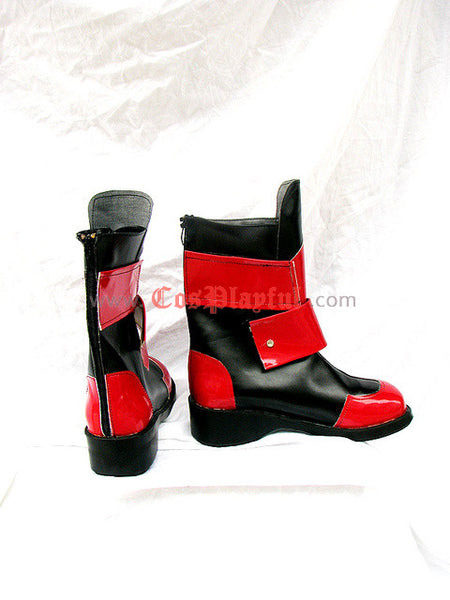 Inspired by Magical Girl Lyrical Nanoha Vita Cosplay Boots