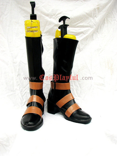 Inspired by Black Butler Undertaker Cosplay Boots