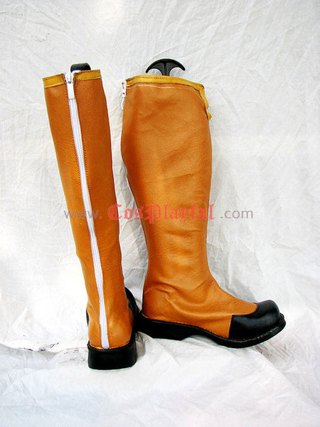 Inspired by Tales of the Abyss Guy Cecil Cosplay Boots