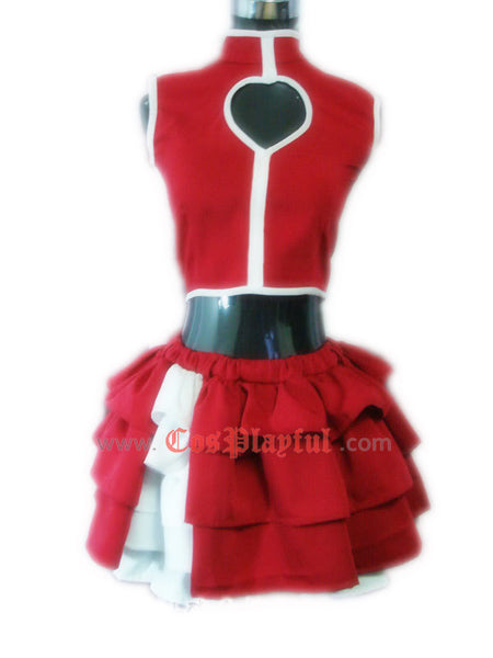 Inspired by King of Fighters KOF Athena Asamiya Cosplay Costume