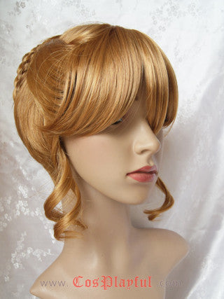 Inspired by Umineko no Naku Koro ni Beatrice Cosplay Wig