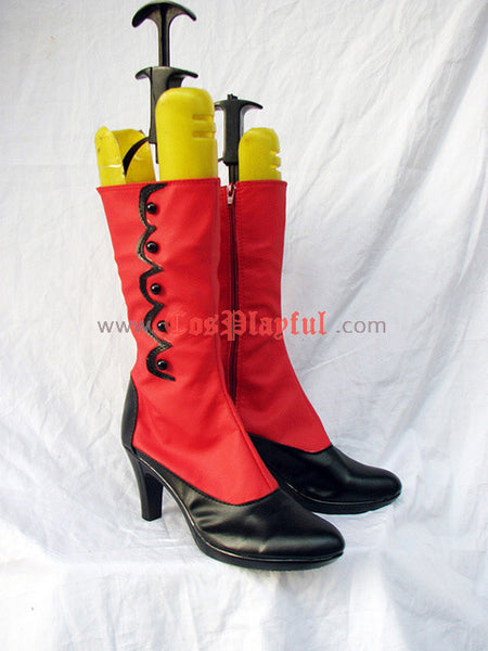 Inspired by Black Butler Madame Red Cosplay Boots