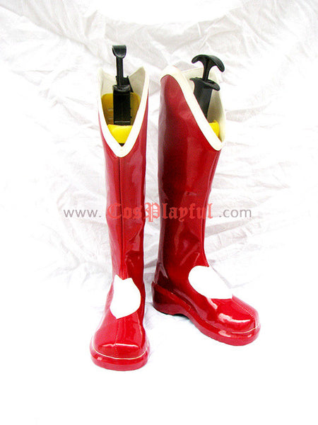 Inspired by King of Fighters Athena Asamiya Cosplay Boots