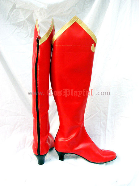 Inspired by Phoenix Wright Regina Berry Cosplay Boots