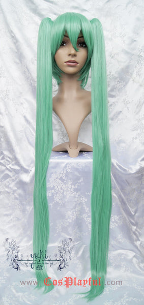 Inspired by Vocaloid Hatsune Miku Cosplay Wig High Quality Green