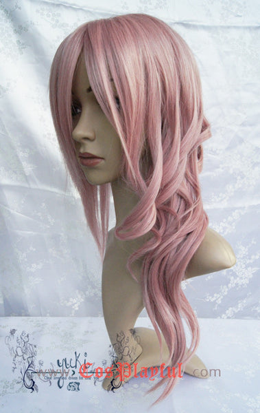 Inspired by Final Fantasy XIII 13 Lightning Cosplay Wig High Quality