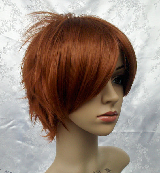 Inspired by Hetalia Axis Powers Italy Feliciano Vargas Cosplay Wig