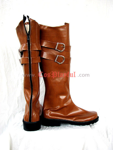 Inspired by Devil May Cry 4 Credo Cosplay Boots