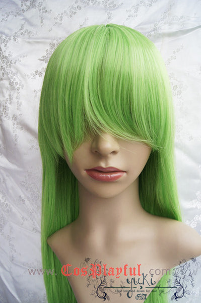 Inspired by C.C. Code Geass Cosplay Wig High Quality
