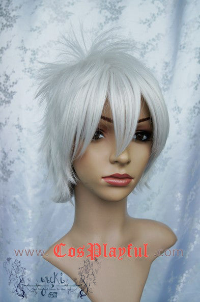 Inspired by Gin Tama Silver Soul Sakata Gintoki Cosplay Wig High Quality