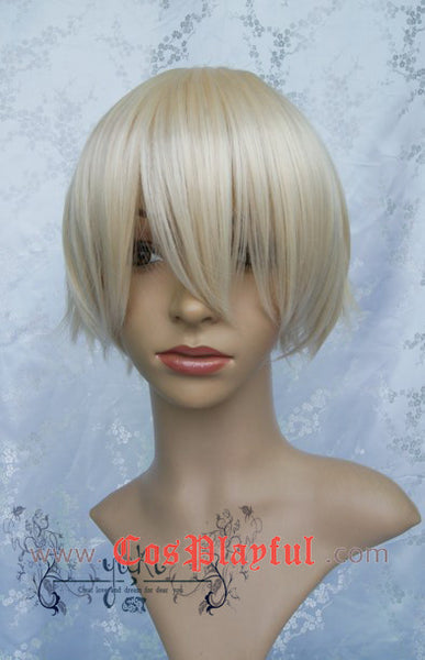 Inspired by Black Butler Earl Alois Trancy Cosplay Wig High Quality