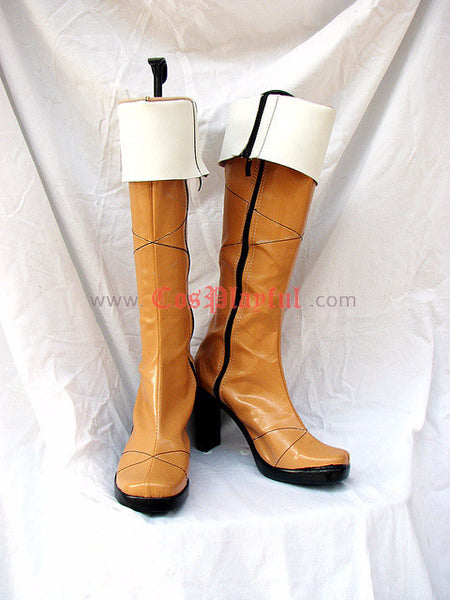 Inspired by Lamento Beyond The Void Konoe Cosplay Boots