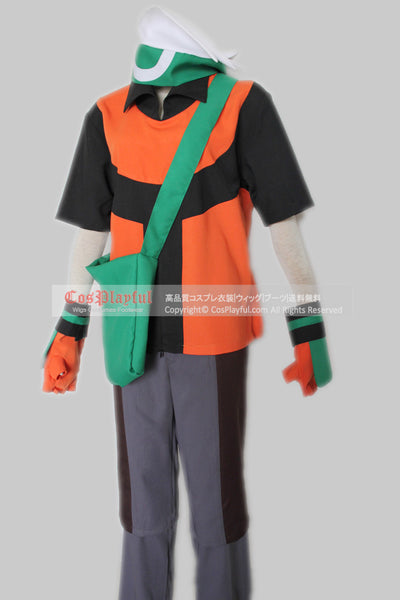 Inspired by Pokemon  Brendan from Emerald Cosplay Costume