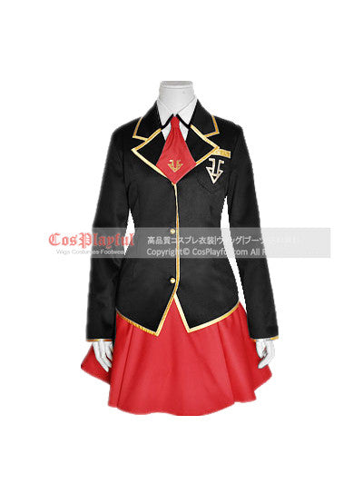 Inspired by Baka and Test Girl Uniform Mizuki Himeji Cosplay Costume