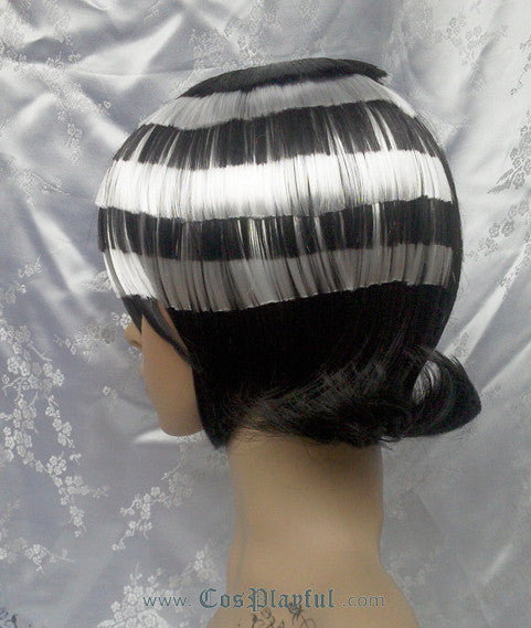 Inspired by Soul Eater Death the Kid Cosplay Wig