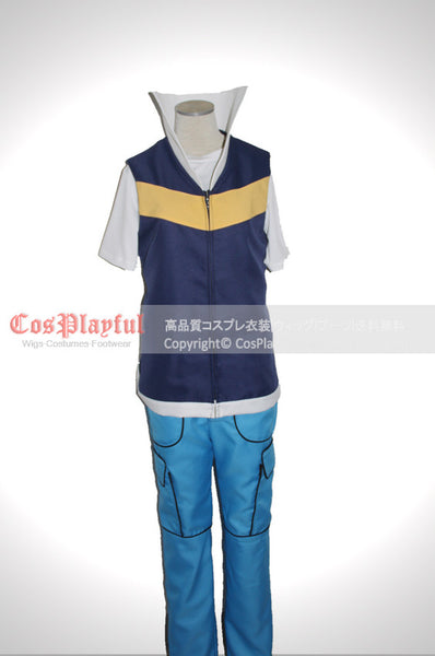 Inspired by Pokemon Ash Ketchum Cosplay Costume