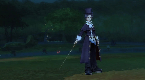 Inspired by Frederic Chopin from Eternal Sonata Cosplay Costume
