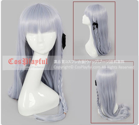 Inspired by Dangan Ronpa Kyoko Kirigiri Cosplay Wig High Quality