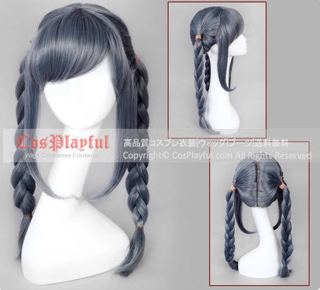 Inspired by Dangan Ronpa Peko Pekoyama Cosplay Wig High Quality