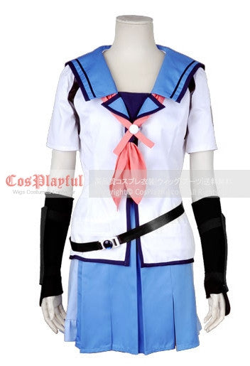 Inspired by Eri Shiina from Angel Beats Cosplay Costume