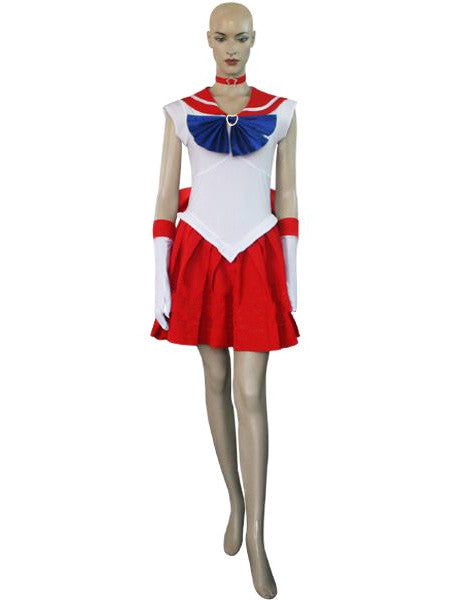 Inspired by Raye Hino Cosplay Costume- Sailor Mars Cosplay Costume