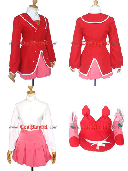 Inspired by Princess Fine - Fushigiboshi No Futago Hime Gyu Cosplay Costume