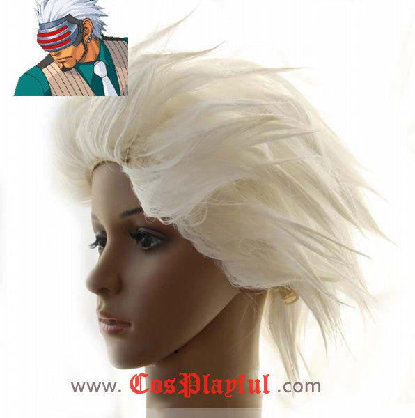 Inspired by Ace Attorney Godot Cosplay Wig