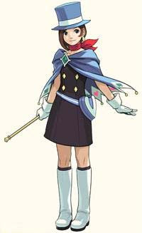 Inspired by Apollo Justice Trucy Minuki Cosplay Costume from Phoenix Wright - Cosplayful