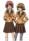 Inspired by Hitohira School Uniform Cosplay Costume
