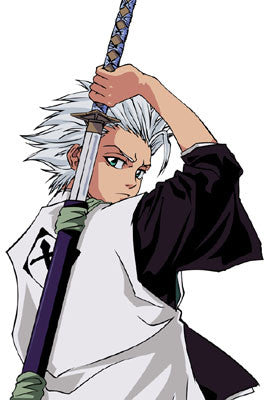 Inspired by Hitsugaya Toushiro 10th Division Captain Cosplay -Bleach