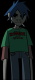 Inspired by Gorillaz 2D Cosplay Costume