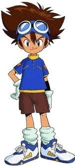 Inspired by Tai Kamiya from Digimon Adventure Cosplay Costume
