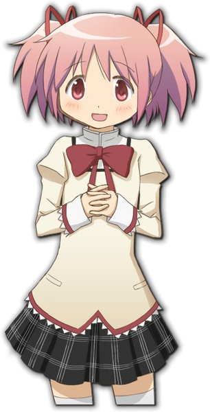 Inspired by Puella Magi Madoka Magica Madoka Kaname Cosplay Costume School Uniform