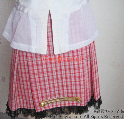 Inspired by Final Fantasy XIII 13 Serah Farron Cosplay Costume