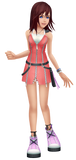 Inspired by Kingdom Hearts 2 Kairi Cosplay Costume