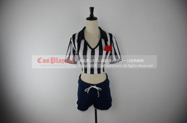Inspired by Katarina from League of Legends Referee Cosplay Costume
