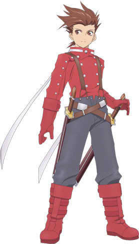 Inspired by Tales of Symphonia Lloyd Irving Cosplay Costume